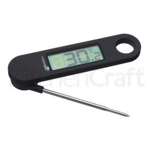 Master Class Digitales Faltthermometer -45 bis +200°C für Schokolade und zur Garkontrolle