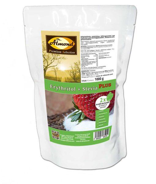 Erythrit Stevia doppelte Süße 2x so süß wie Zucker Zuckerersatz