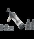 Lurch Gebäckpresse für Spritzgebäck, Torten und Churros mit 9 Motivscheiben und 8 Tüllen