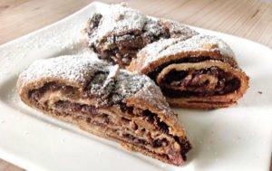 Rezept Schokoladen Nuss Hörnchen lowcarb glutenfrei