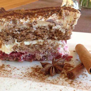 Spekulatius Kirsch Tiramisu lowcarb glutenfrei
