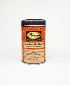 Premium Spices MAROKKANISCHE HARISSA - Gewürze ohne Zusatzstoffe, geprüft glutenfrei