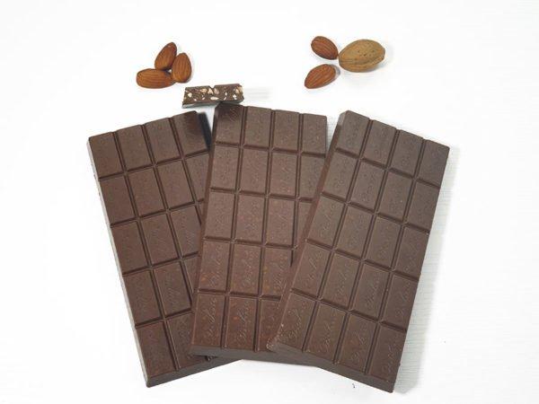 Choketo-low-carb-Schokolade-zuckfrei-xylitfrei-keto-Tafel-Mandel-3x100g