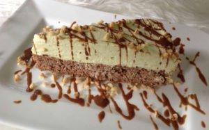 Rezept Pistazien-Mascarpone-Sahne Torte mit Lebkuchen-Biskuit
