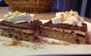 Rezept Nuss-Schnitten mit Nuss-Macarpone-Quarkcreme lowcarb glutenfrei