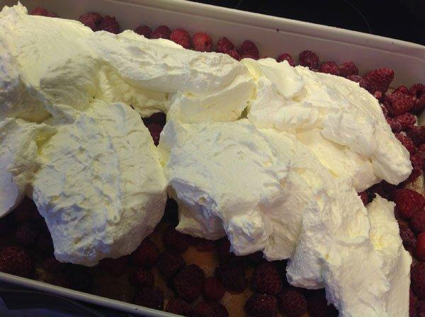 Rezept Himbeerschnitte lowcarb und glutenfrei