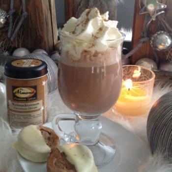 Weihnachtliche Trinkschokolade lowcarb keto glutenfrei