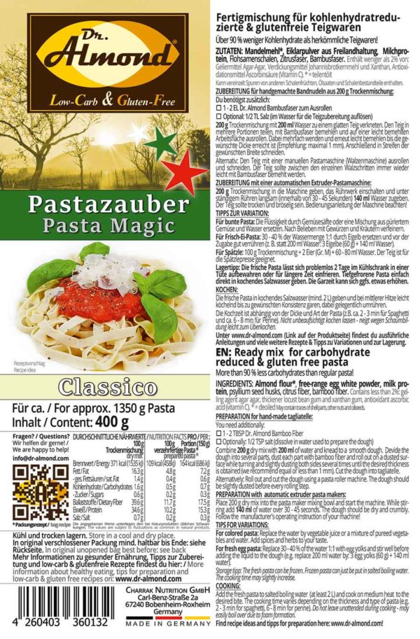 Pastazauber-CLASSICO-low-carb-Nudeln