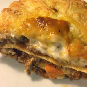 Rezept Lasagne-low-carb-glutenfrei