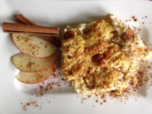 Rezept Milchreis aus dem Ofen lowcarb glutenfrei