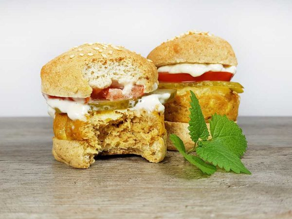Low Carb Burger Buns Mini-Burger glutenfrei