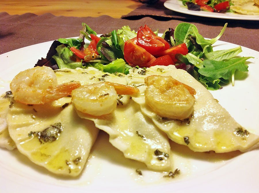 rezept ravioli mit flusskrebsf llung low carb glutenfrei dr almond lowcarb glutenfrei shop. Black Bedroom Furniture Sets. Home Design Ideas