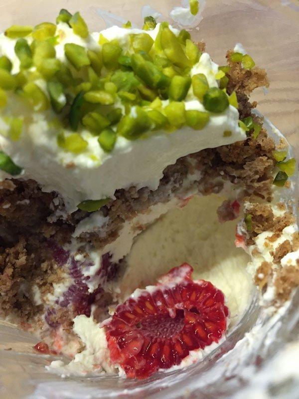 Grundrezept Quark-Sahne-Creme für Torten und Desserts lowcarb glutenfrei