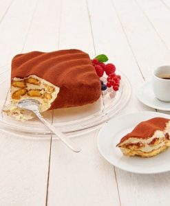 """Lurch Flexiform Welle Silikonform """"Back die Hälfte"""" für kleine Kuchen 17×17 cm"""