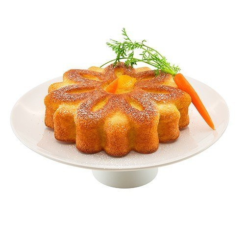 """Lurch Flexiform Blume Silikonform """"Back die Hälfte"""" für kleine Kuchen 19cm"""