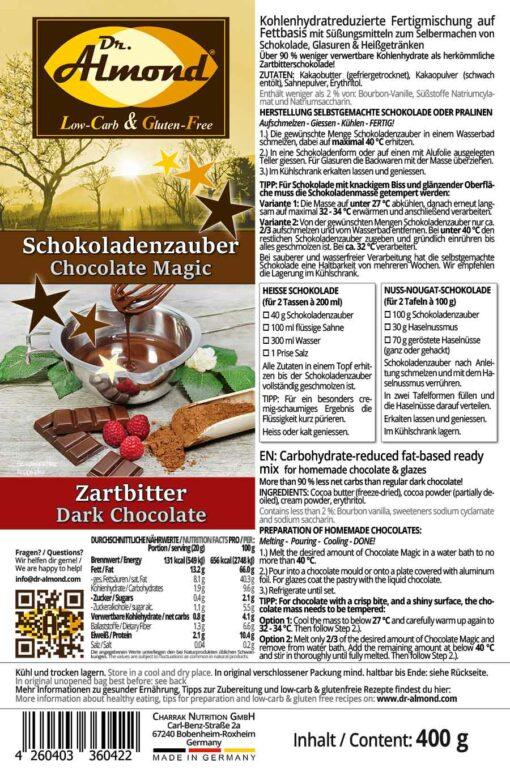 Schokoladenzauber-Zartbitter-Tuete-low-carb-Schokolade-zuckerfrei