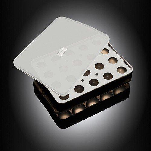 Lurch Flexiform ICE FORMER Kugel Ø3cm schwarz transparent für Eiswürfel & Pralinen