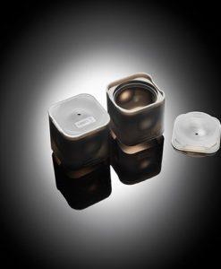 Lurch Flexiform ICE FORMER Ball Ø6cm 2erSet schwarz transparent für XXL Eiswürfel, Desserts & Pralinen