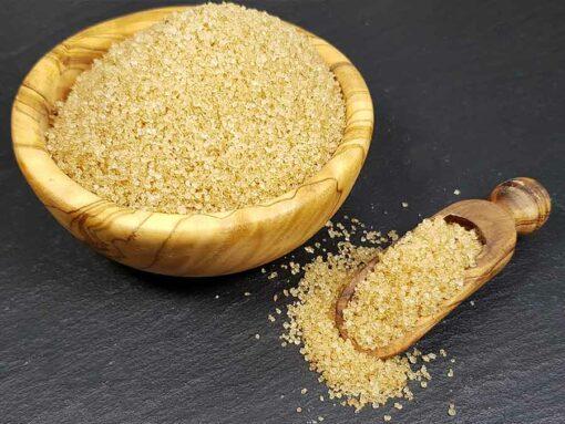 Karamelltraum - Low-Carb Rohrzucker-Ersatz mit Erythrit Golden Sweet Bronze