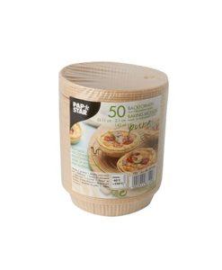 Papier Backformen stabil Kuchen Torteletts