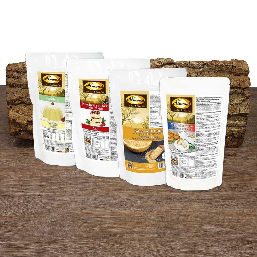 low carb starter set s ss kuchen desserts glutenfrei sojafrei keto dr almond lowcarb. Black Bedroom Furniture Sets. Home Design Ideas