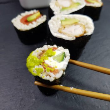 Rezept Sushi lowcarb OHNE Blumenkohl etc.