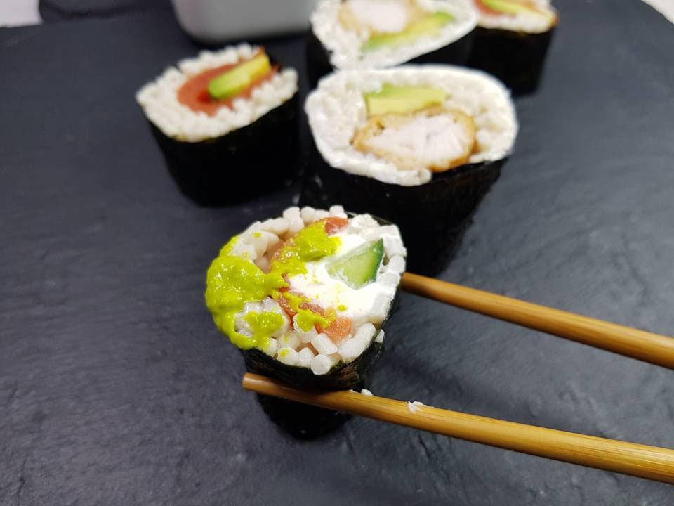 rezept sushi lowcarb ohne blumenkohl konjak etc dr. Black Bedroom Furniture Sets. Home Design Ideas