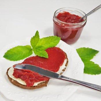 Rezept Rotes Pflaumenmus lowcarb