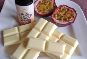 Grundrezept weiße Schokolade Lowcarb