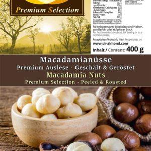 Macadamianuesse geroestet ohne Salz keto Snack low carb