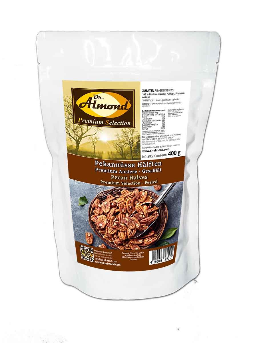 pekann sse h lften gesch lt premium auslese low carb snack 400 g dr almond lowcarb. Black Bedroom Furniture Sets. Home Design Ideas