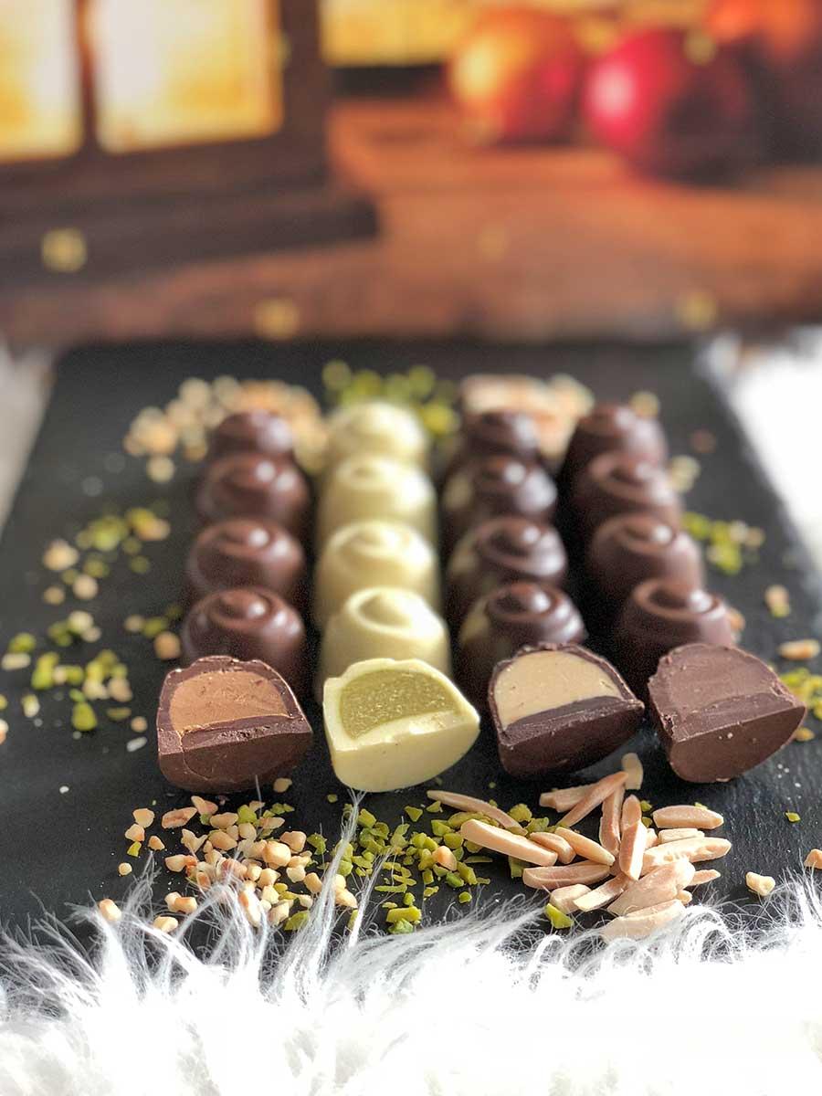 lowcarb adventskalender mit keto pralinen choketo schokolade f llungen ohne zuckerzusatz. Black Bedroom Furniture Sets. Home Design Ideas