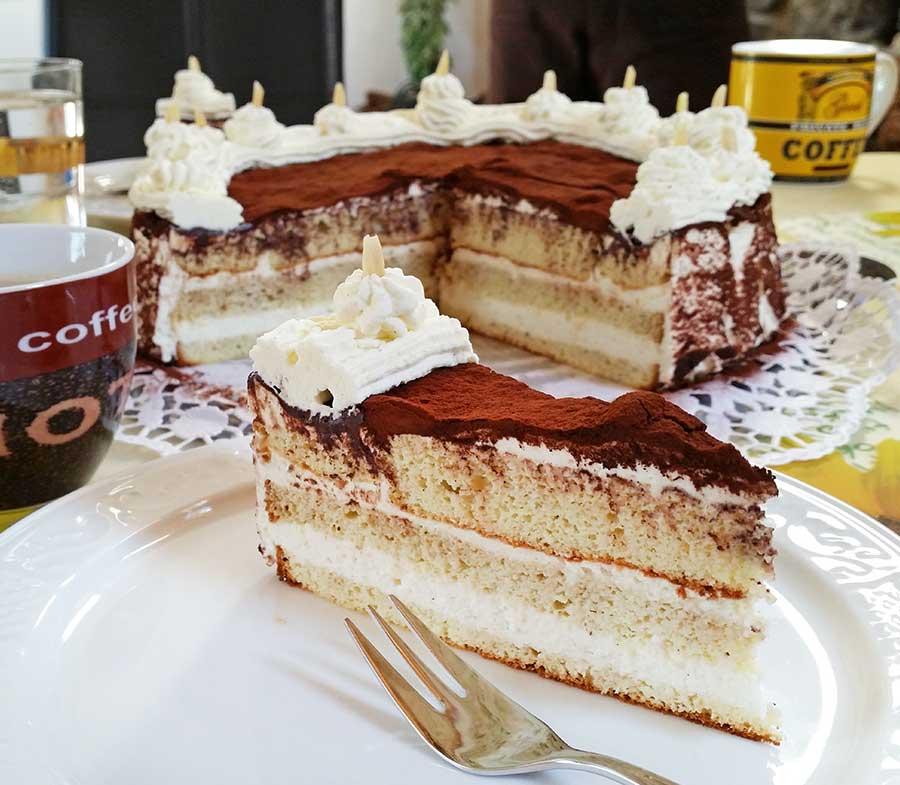 Rezept Tiramisu Torte Lowcarb Glutenfrei Dr Almond Lowcarb