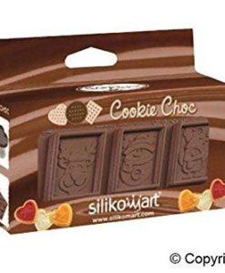215-00_Silikomart CKC01 Keks-Set SNOWMAN Schneemann Xmas Cookies