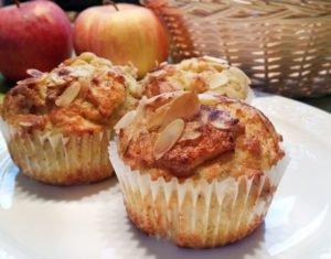 Rezept Apfelmuffins lowcarb glutenfrei