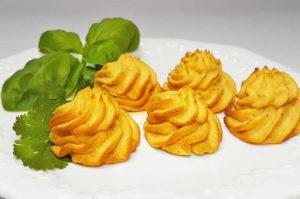 Rezept Herzoginkroketten aus Gemüse lowcarb glutenfrei keto