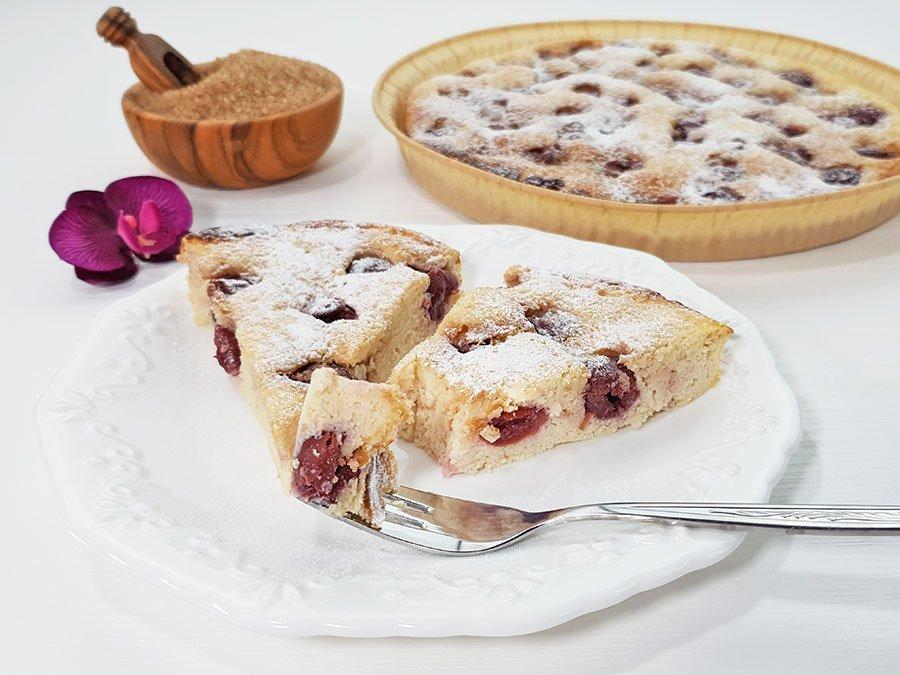 Rezept Buttermilchkuchen Mit Kirschen Low Carb Glutenfrei