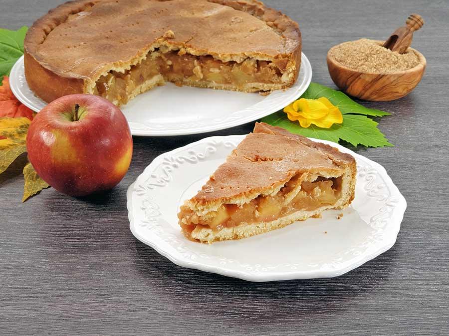 rezept gedeckter apfelkuchen mit m rbeteig und karamellkruste low carb glutenfrei dr almond. Black Bedroom Furniture Sets. Home Design Ideas