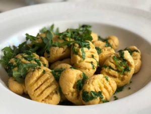 Rezept Kürbis Gnocchi lowcarb glutenfrei
