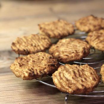 Rezept Apfel-Butter-Cookies lowcarb glutenfrei