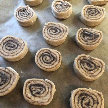Rezept Mini-Stollen-Schnecken lowcarb keto