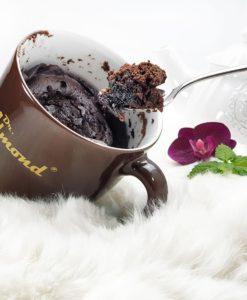 Rezept Tassenkuchen-low-carb-glutenfrei-Brownie-Mug-Cake-zuckerfrei-Schokokuchen