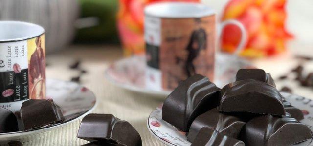Rezept Espresso Nougat Schokolade lowcarb keto