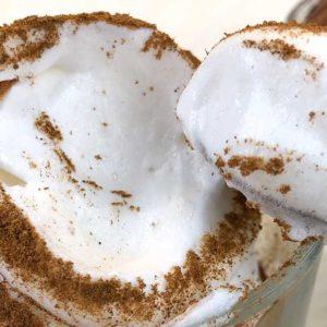 Rezept Proteinschnee Proteinfluff Eiweissfluff lowcarb keto kalorienarm OHNE IMOs