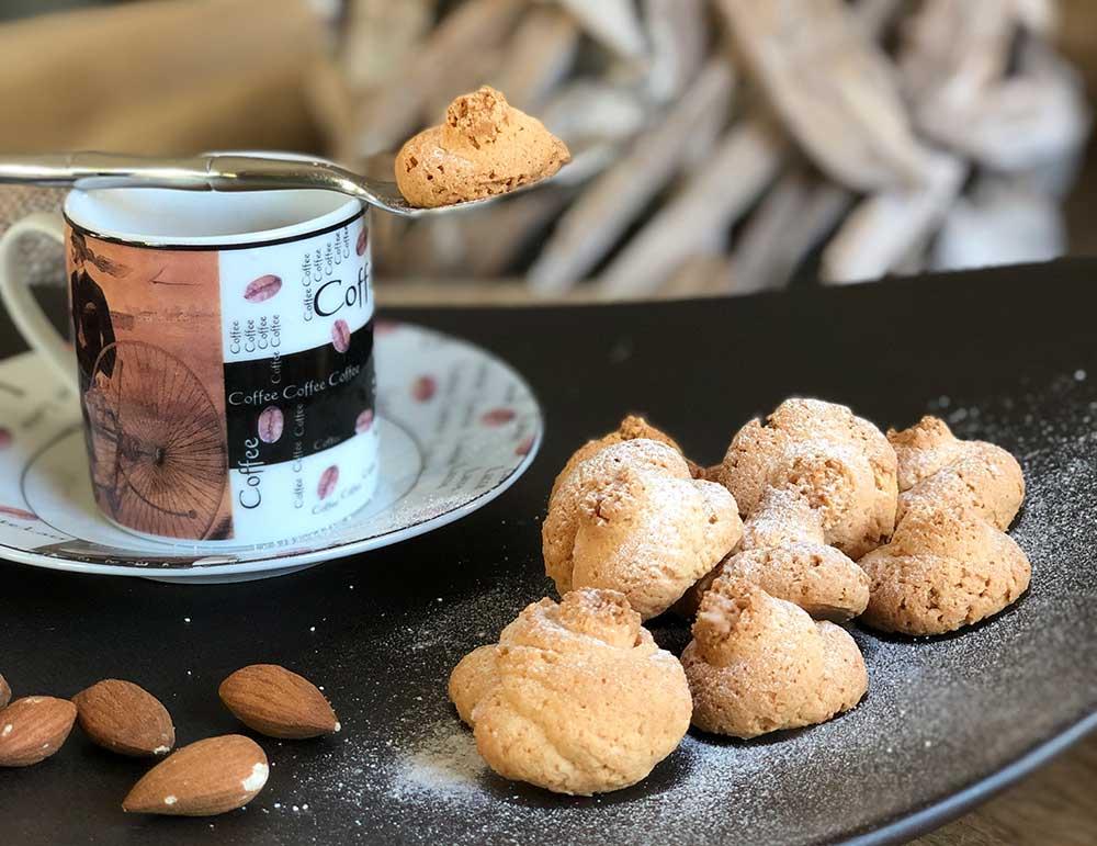 Rezept Amarettini lowcarb keto kalorienarm