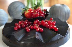 Rezept Eierlikörkuchen in Schokohülle lowcarb glutenfrei