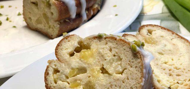 Rezept Fruchtiger Quark-Kranz mit Ananas lowcarb glutenfrei