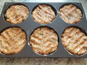 Rezept Pikante Fischfrikadellen Fischburger a la Chermoula low carb glutenfrei