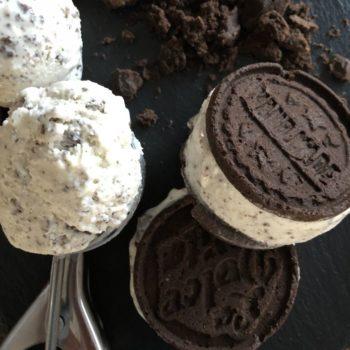 Rezept Cookies & Cream Eis lowcarb zuckerfrei keto