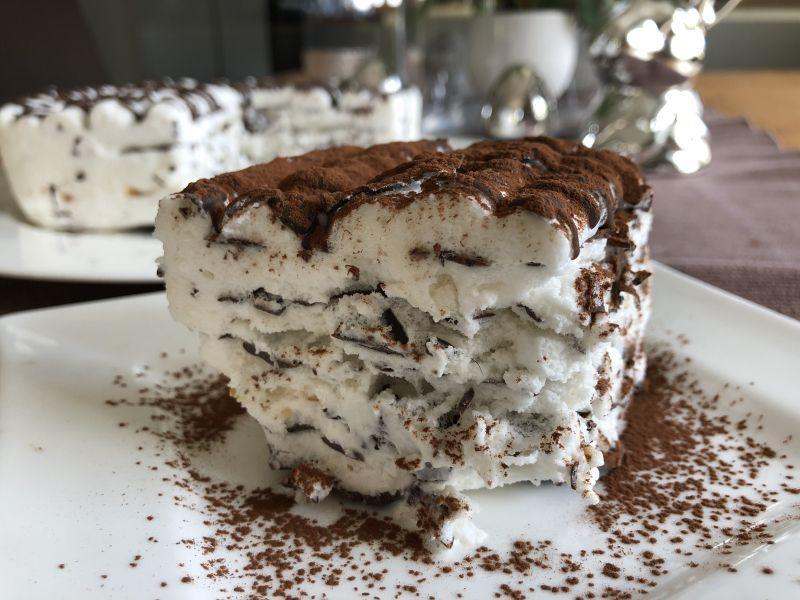 "Rezept ""Fluffietta"" – Eis aus Proteinfluff Eiweissfluff lowcarb keto kalorienarm"